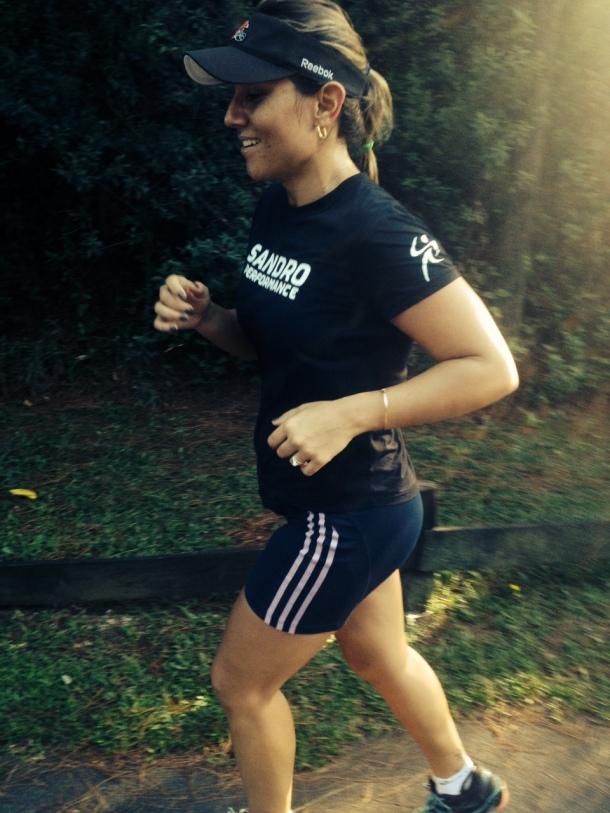 Treinamento de corrida na Aldeia da Serra - doping natural.